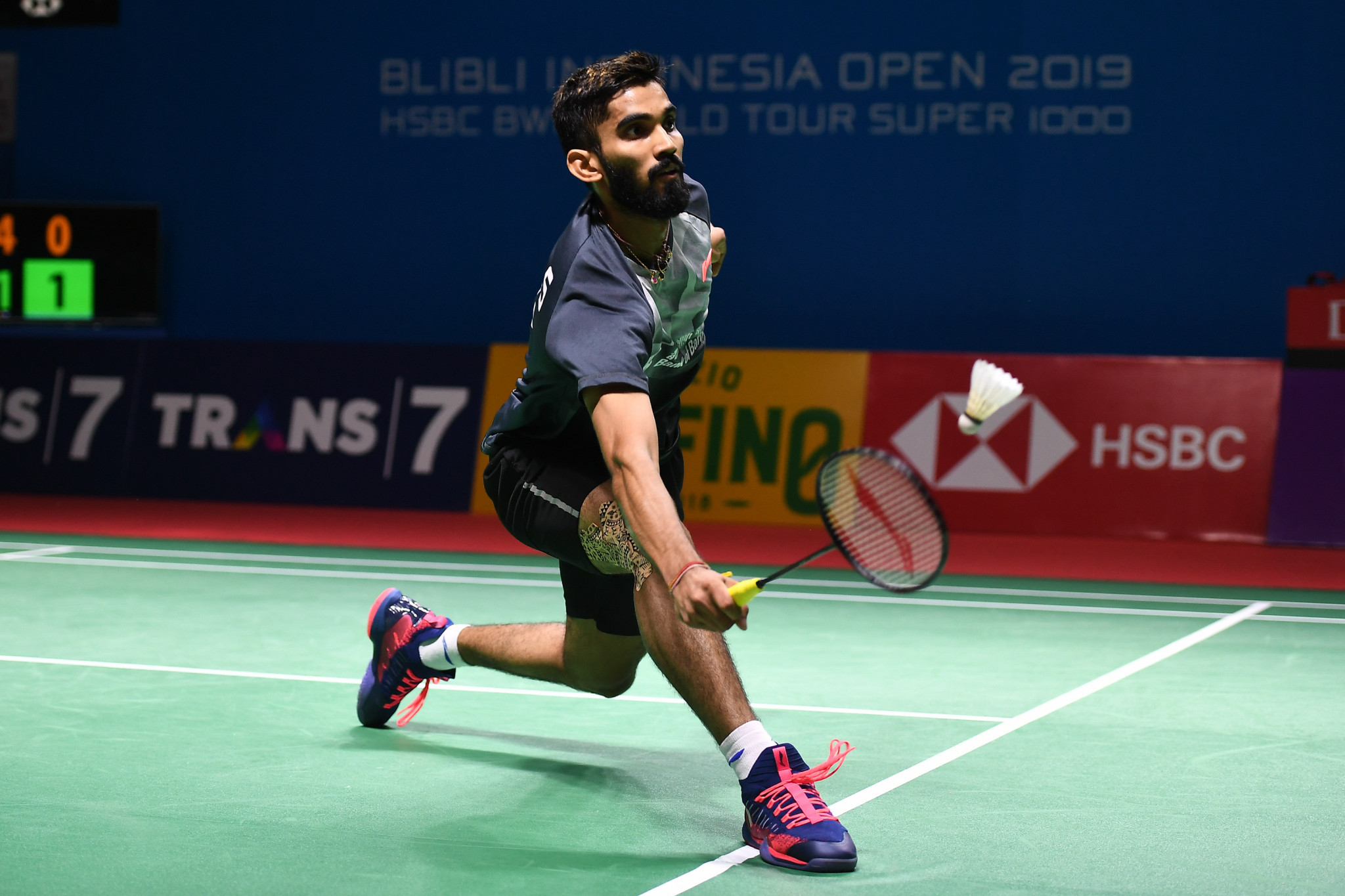 Home favourite Kidambdi knocked out of Syed Modi International Badminton Championships