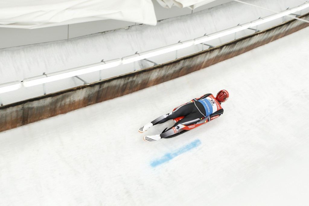 Germany's Felix Loch was disqualified due to an overweight sled
