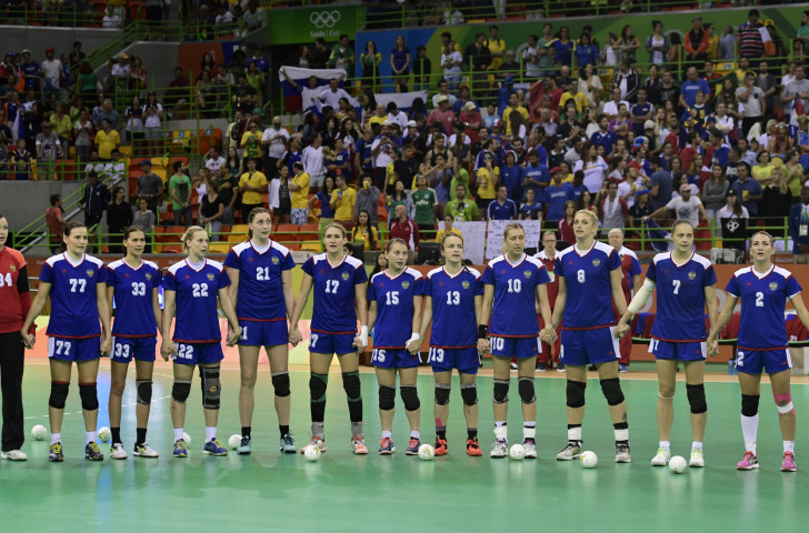 Russia will be seeking a fourth women's world handball gold ©Getty Images