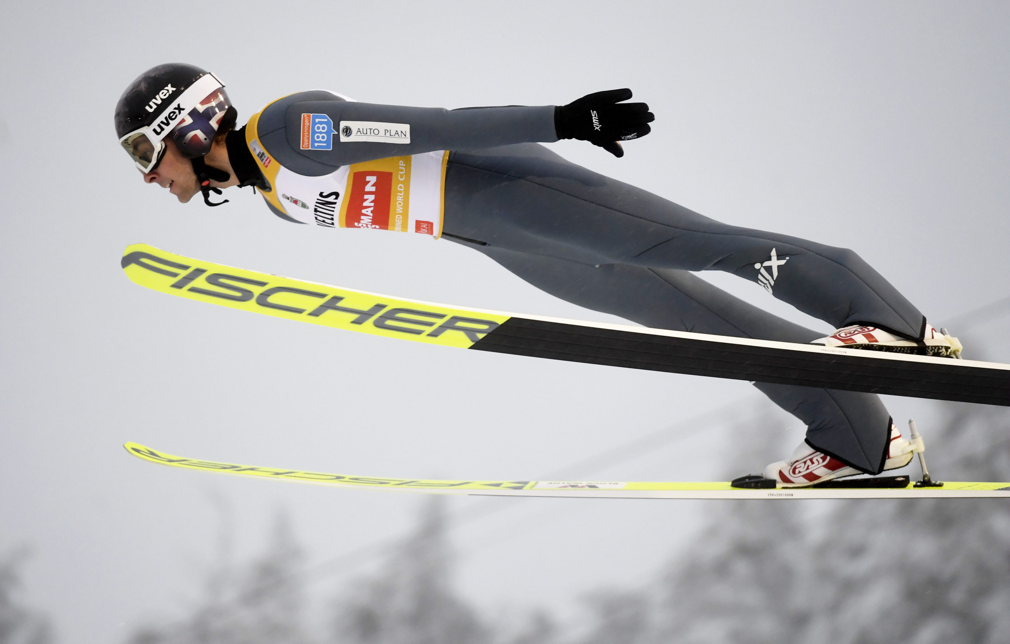 Jarl Magnus Riiber won the first Nordic Combined event of the season ©Getty Images