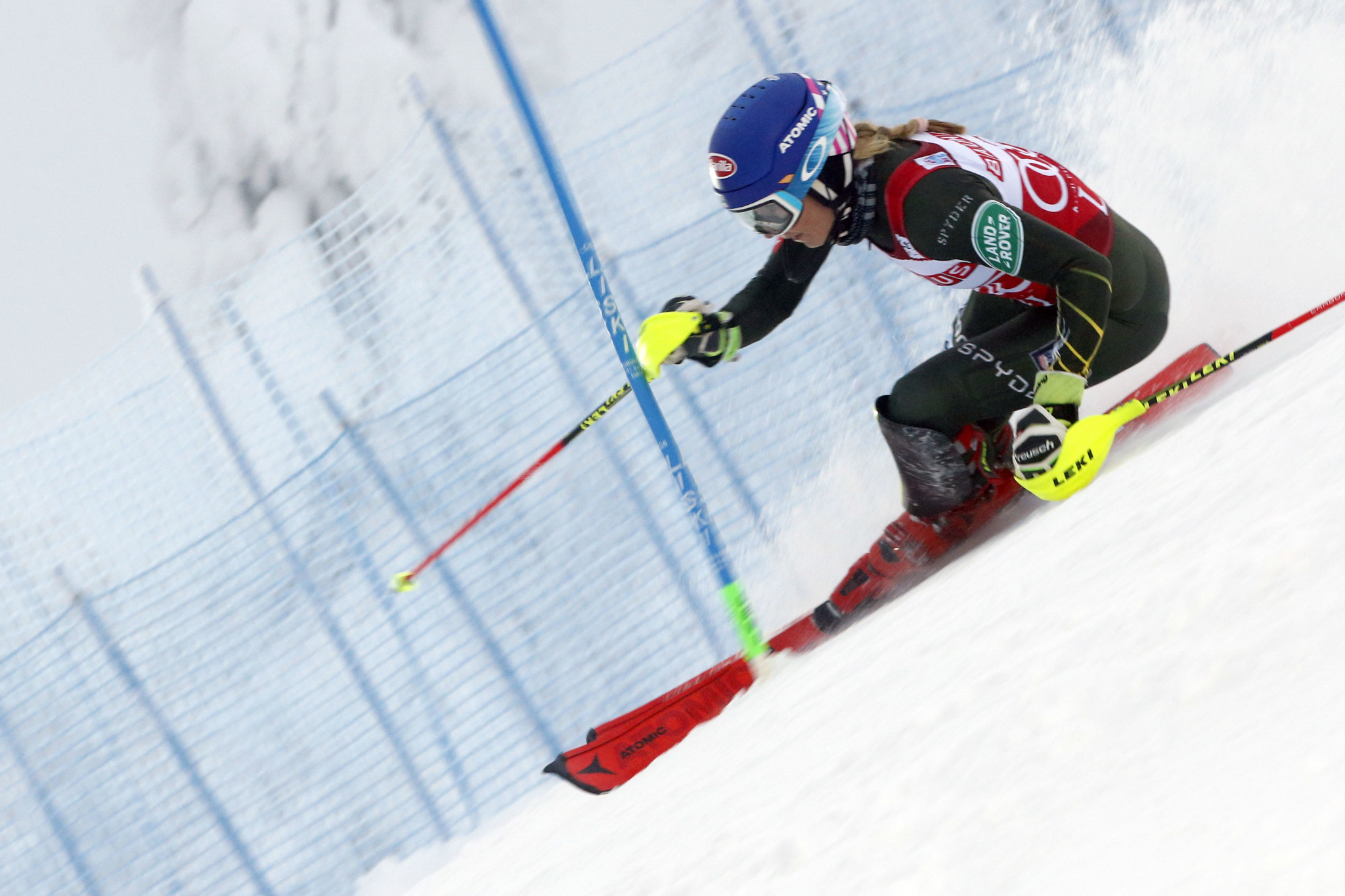 Mikaela Shiffrin can go second on the all-time list ofg women's winners ©Getty Images