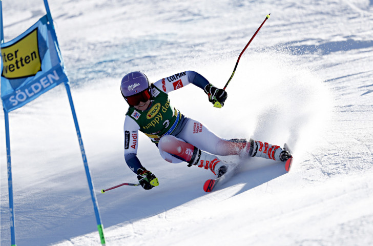 Tessa Worley of France is among three former winners of the FIS World Cup giant slalom in Killington, United States ©Getty Images