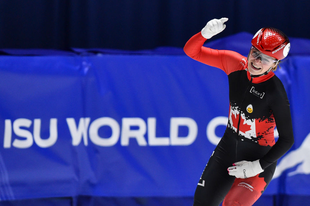 Boutin makes impressive start at ISU Short Track World Cup in Nagoya