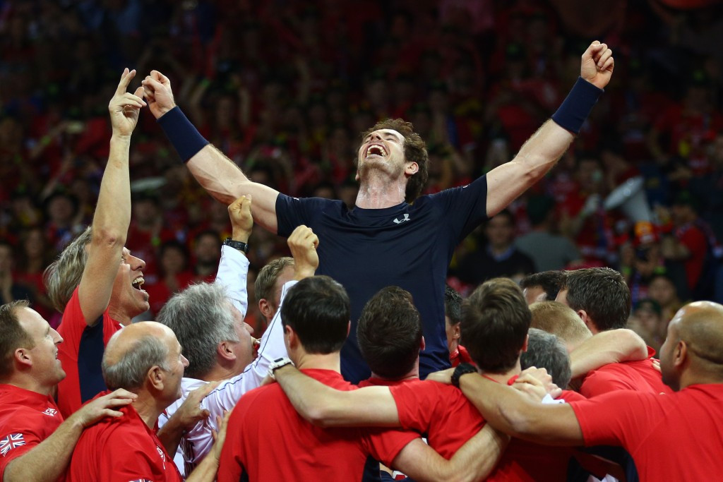 Magic Murray inspires Britain to first Davis Cup title in 79 years