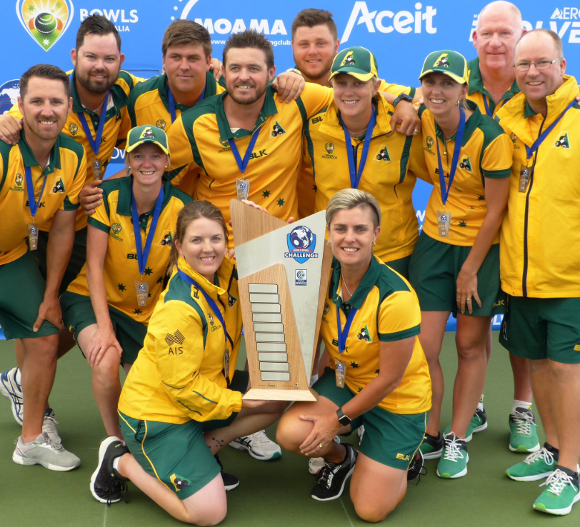 Epic farewell for Murphy as Australia edge World Bowls Challenge