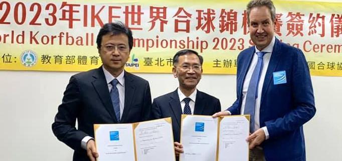 Chinese Taipei will host the 2023 World Korfball Championships ©IKF