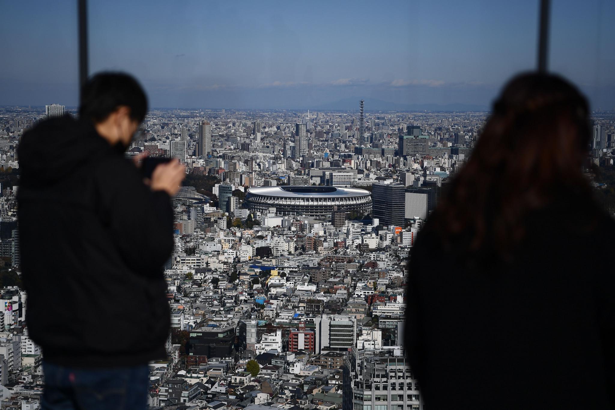 Il completamento della sede segna un'importante pietra miliare per Tokyo 2020 © Getty Images