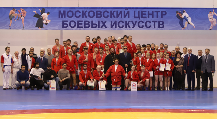 Moscow hosts Russian Sambo Championships for the Blind