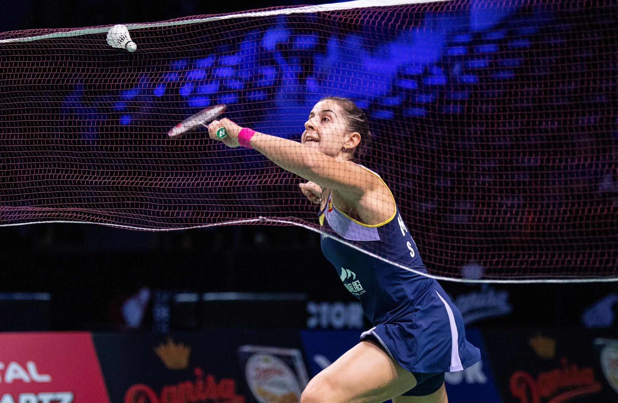 Marín makes women's singles final at Syed Modi International Badminton Championships