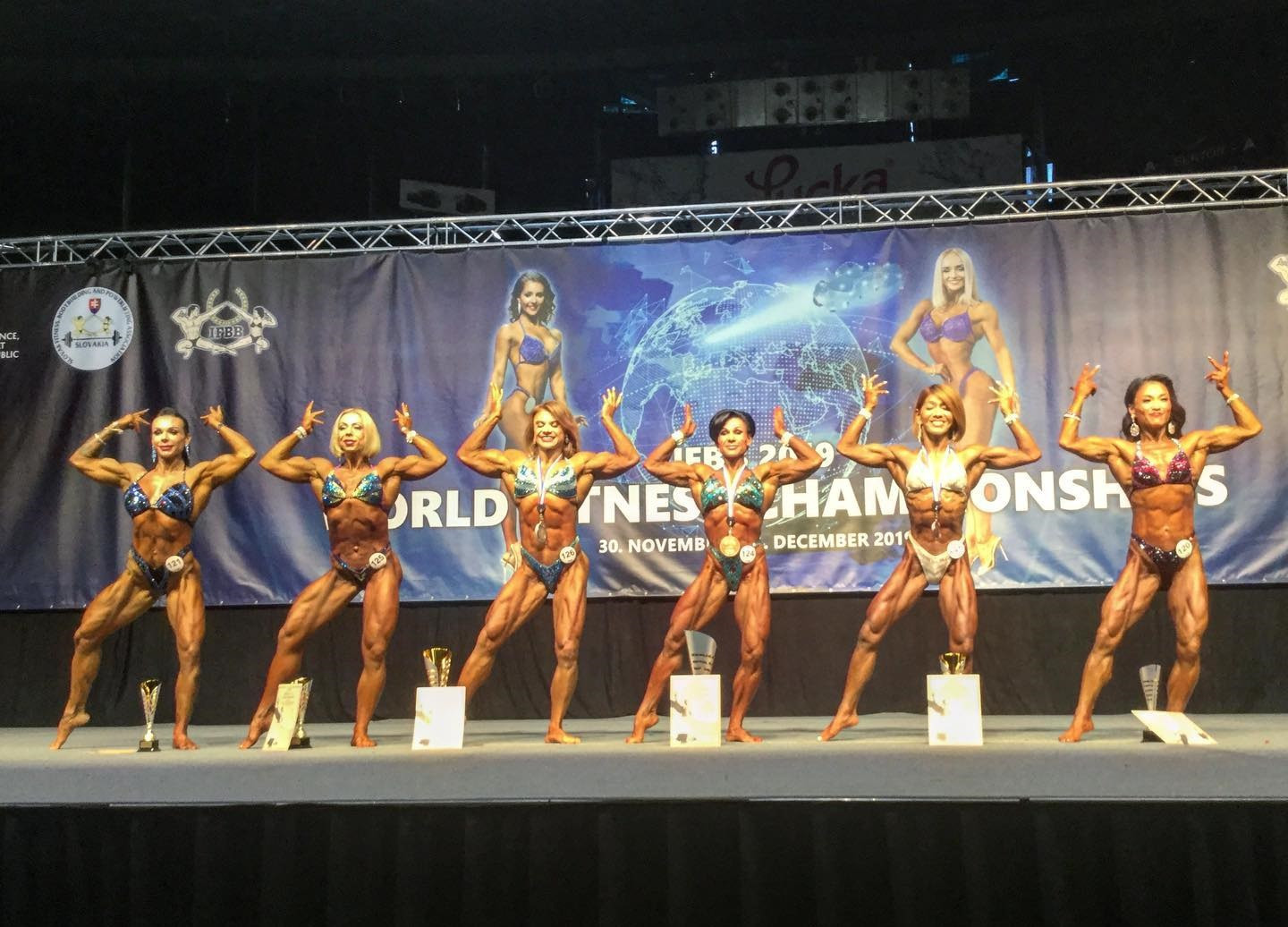 IFBB 2019 World Fitness Championships: Day one of competition