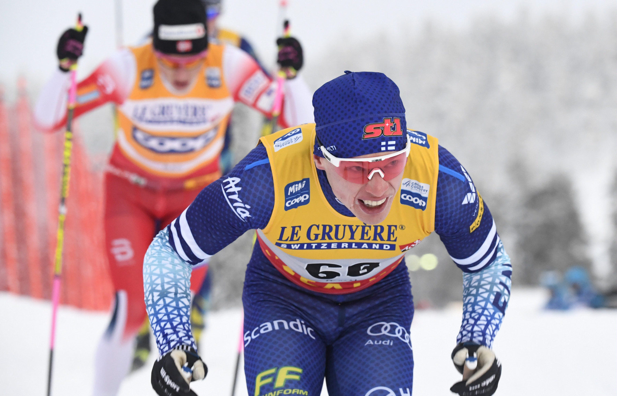 Iivo Niskanen claimed victory on home soil in Ruka ©Getty Images