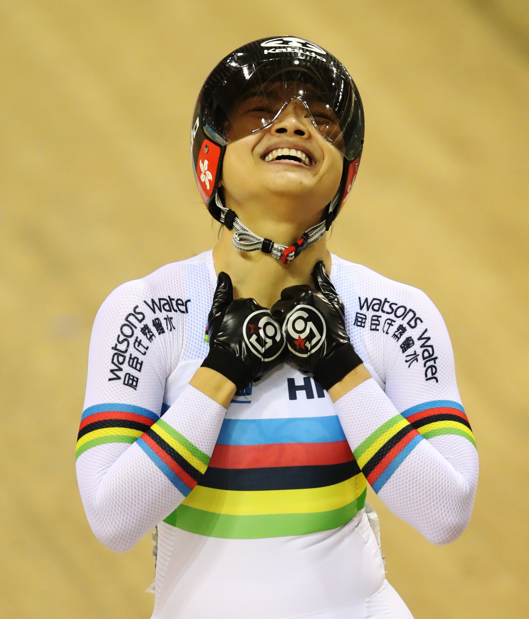 Home hero triumphs at UCI Track World Cup in Hong Kong