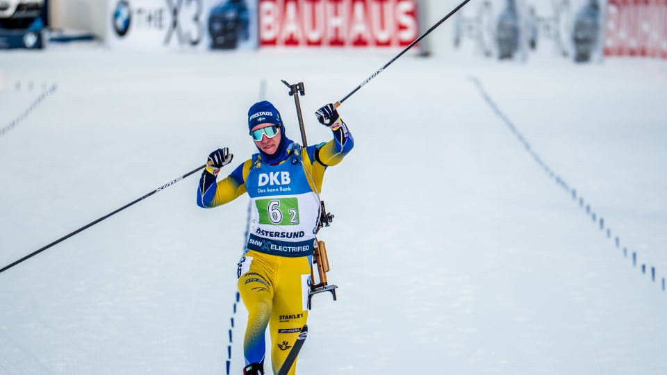 Sweden win first race of IBU World Cup season