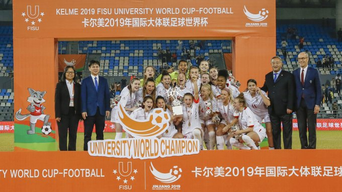 University of Ottawa win inaugural FISU University World Cup Football women's title