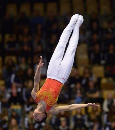 China claim both individual titles at World Trampoline Gymnastics Championships