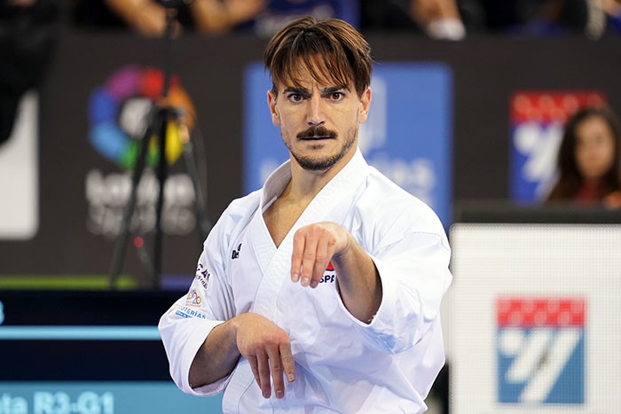 Quintero into men's kata final at Karate 1-Premier League in Madrid