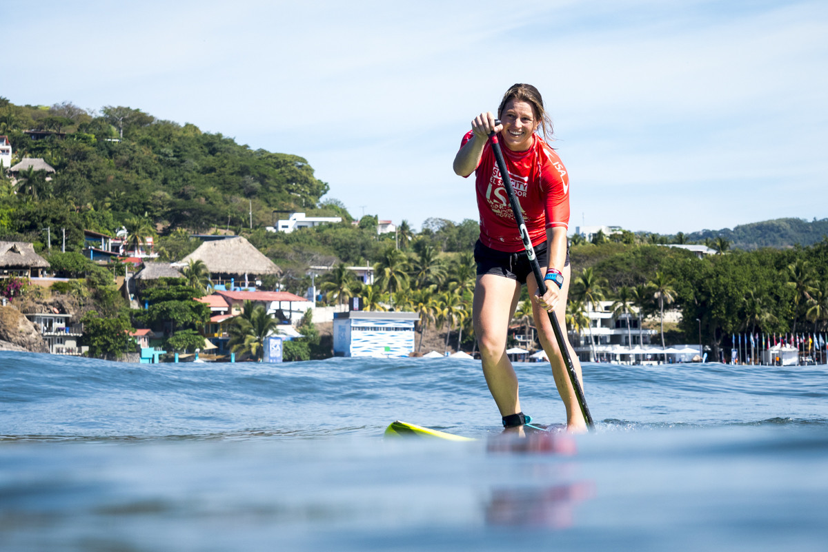 A repechage final beckons for Australian Hannah Finlay-Jones ©ISA