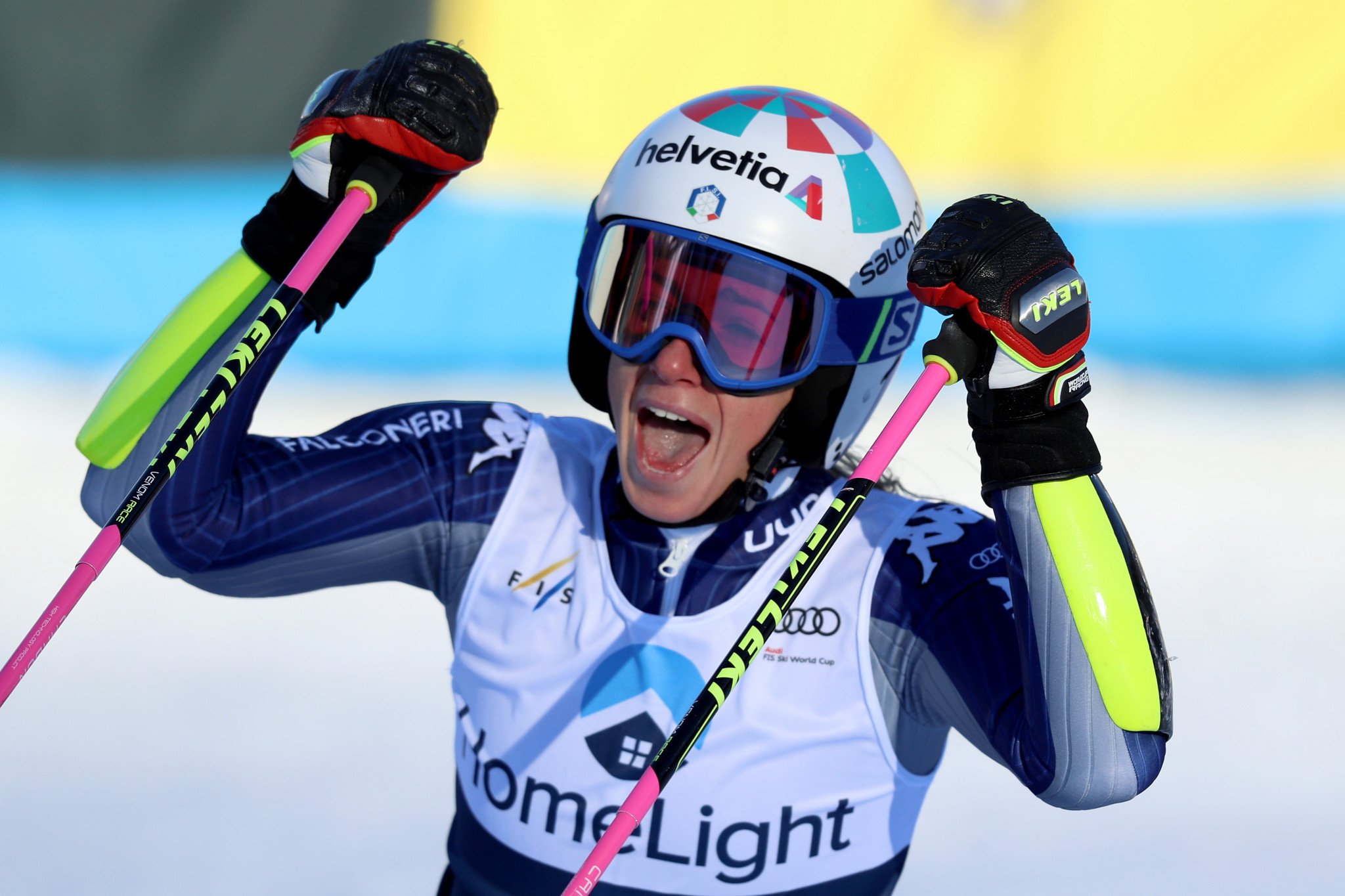 Bassino cashes in with first Alpine Skiing World Cup win in Killington
