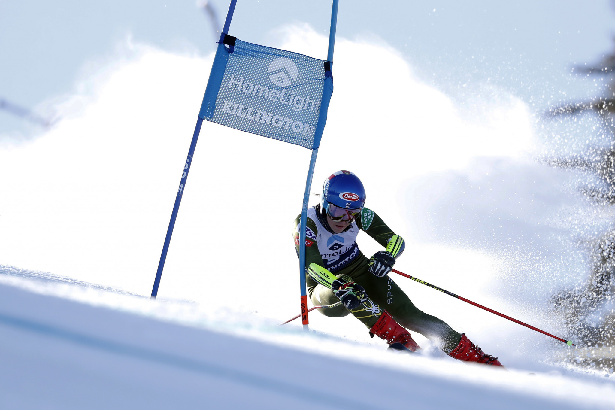 Mikaela Shiffrin must wait to move second on the all-time women's list for race victories ©Getty Images