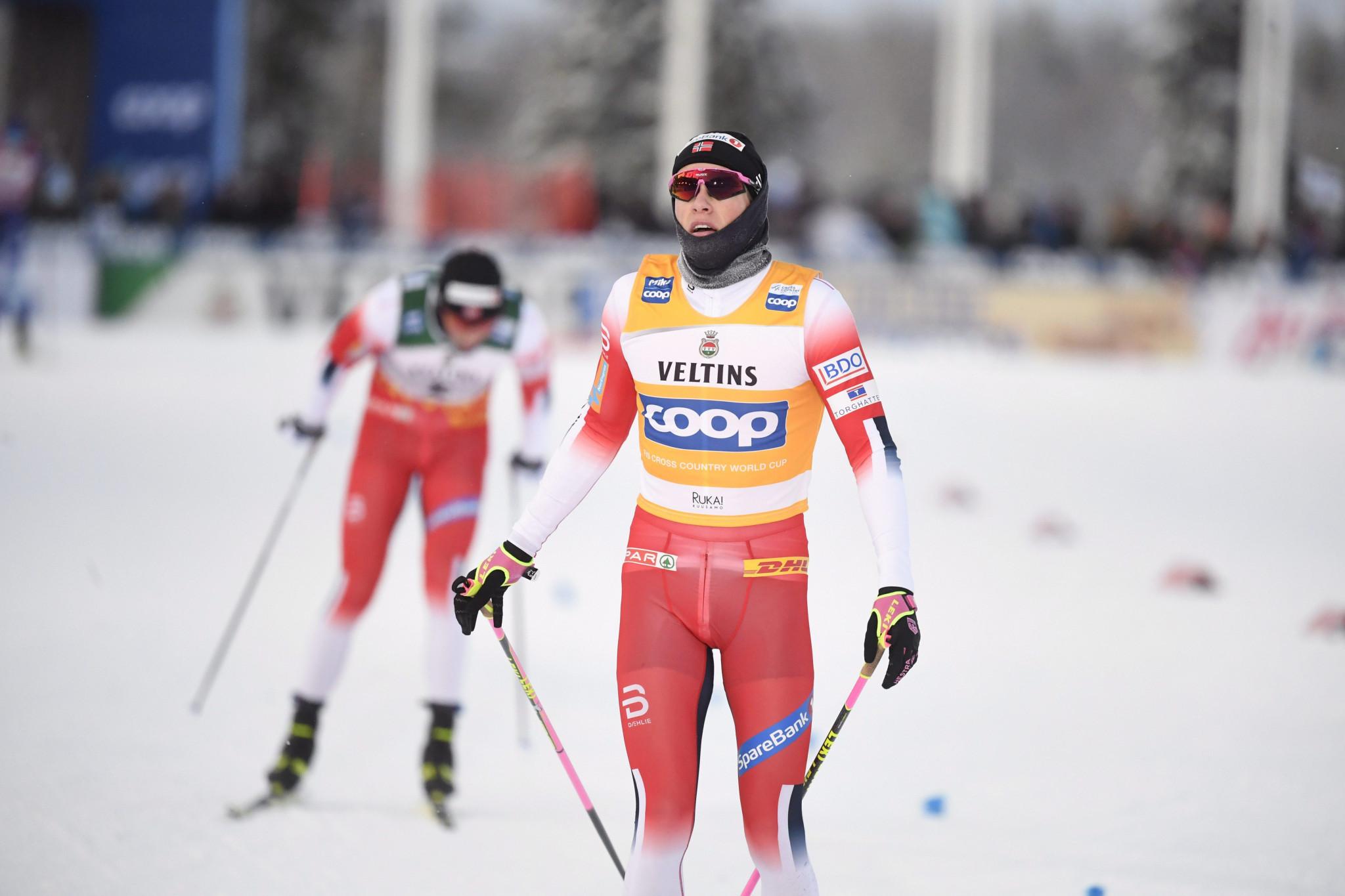 Norway's Johannes Høsflot Klæbo triumphed in the men's 15km pursuit event ©Getty Images