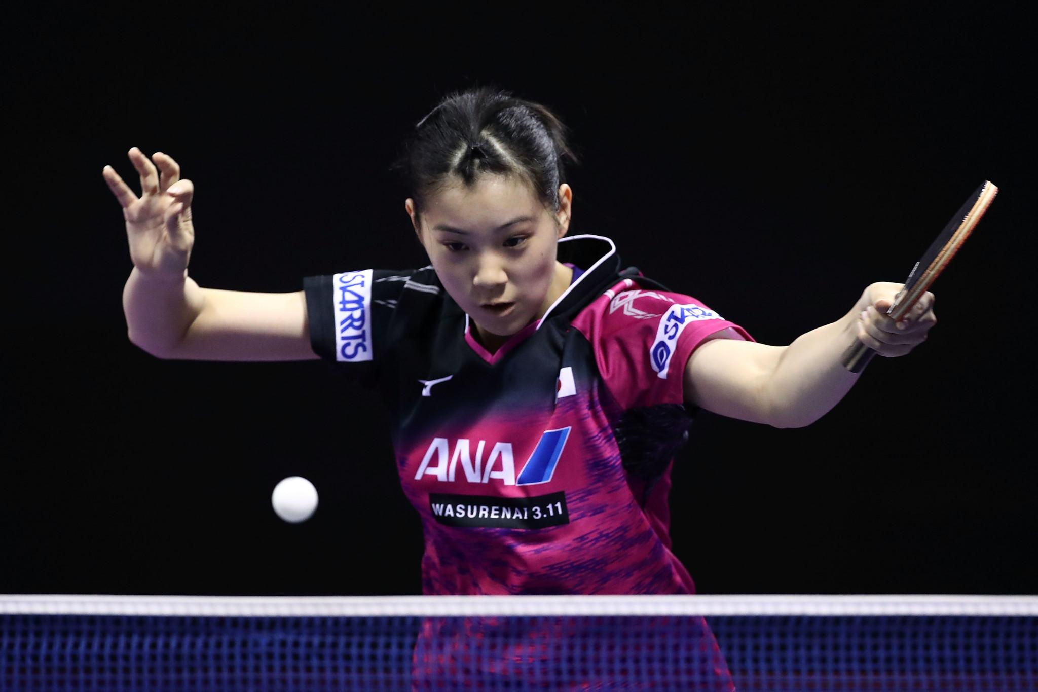 Japan's Nagasaki and Peng of China win ITTF world junior titles in Korat