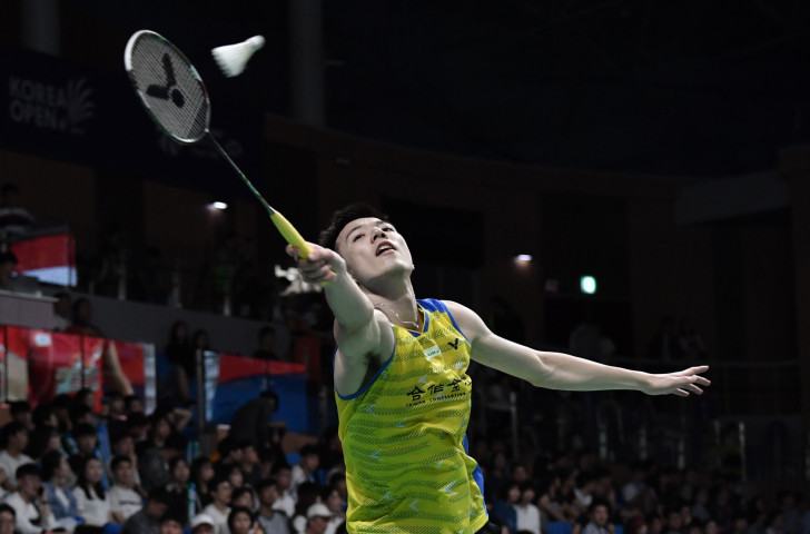 Wang Tzu Wei of Chinese Taipei won the men's singles title at the BWF Syed Modi International in Lucknow, beating home hope Sourabh Verma  ©Getty Images