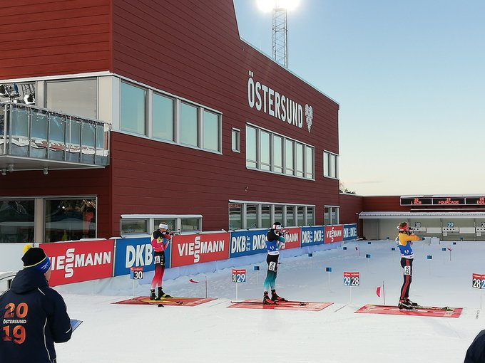 Johannes Thingnes Bø won the opening IBU World Cup sprint event of the season ©Twitter