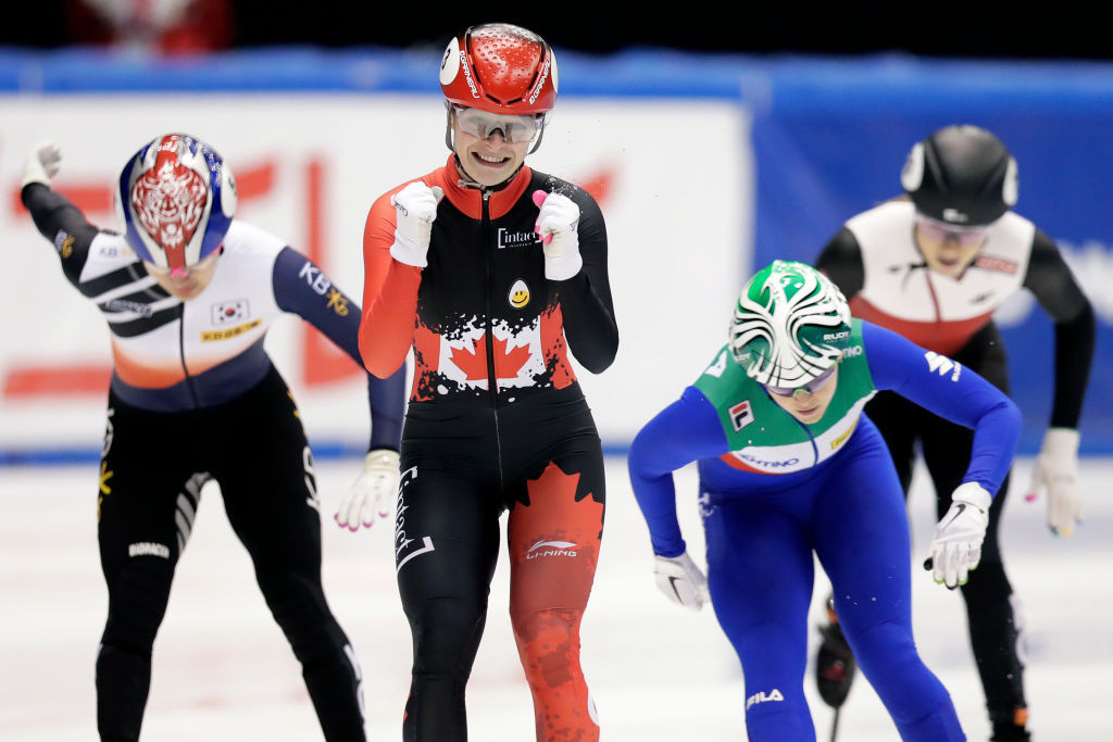 Boutin maintains winning momentum at ISU Short Track World Cup in Nagoya
