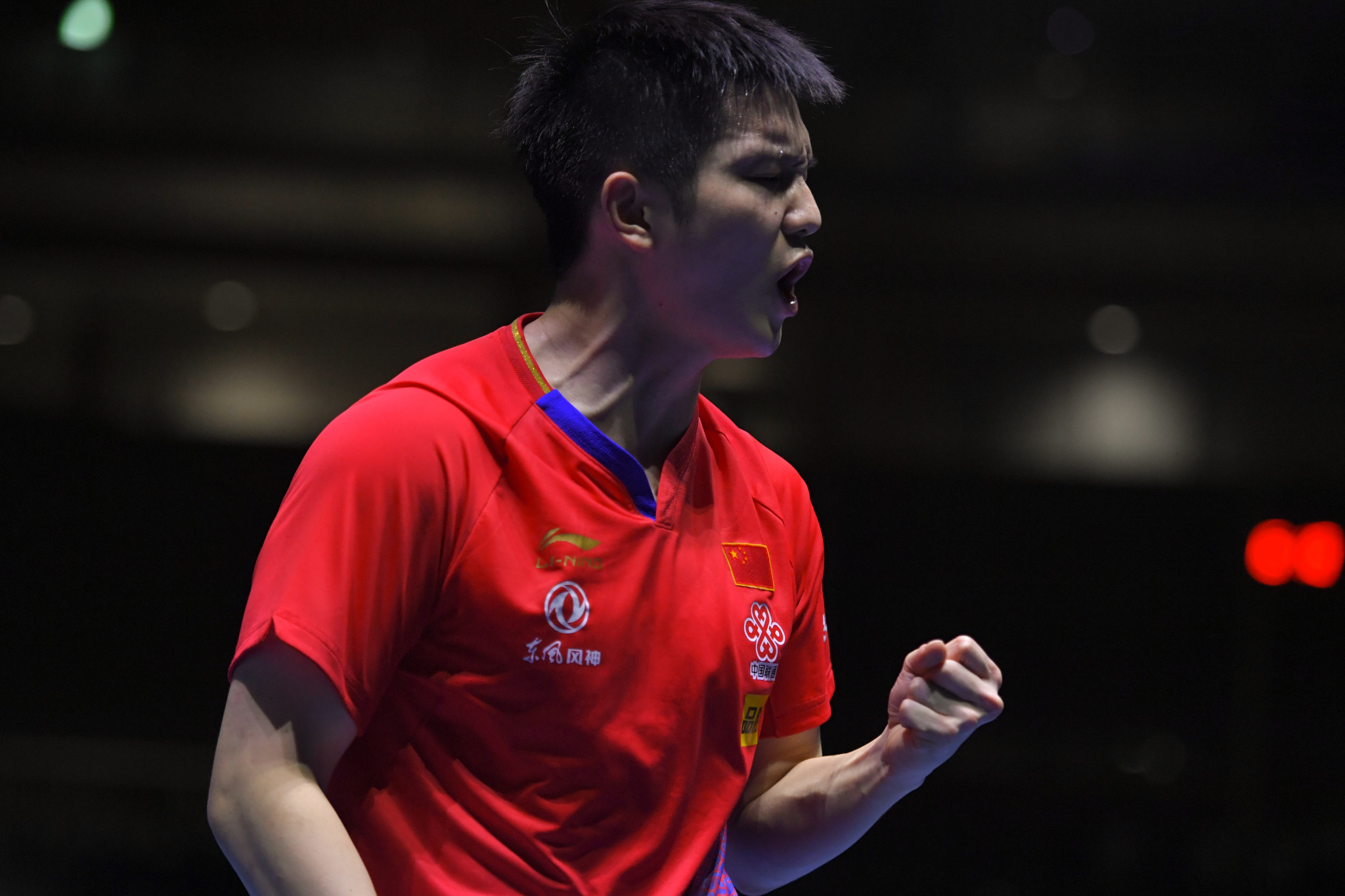 Fan Zhendong defended his World Cup title ©Getty Images