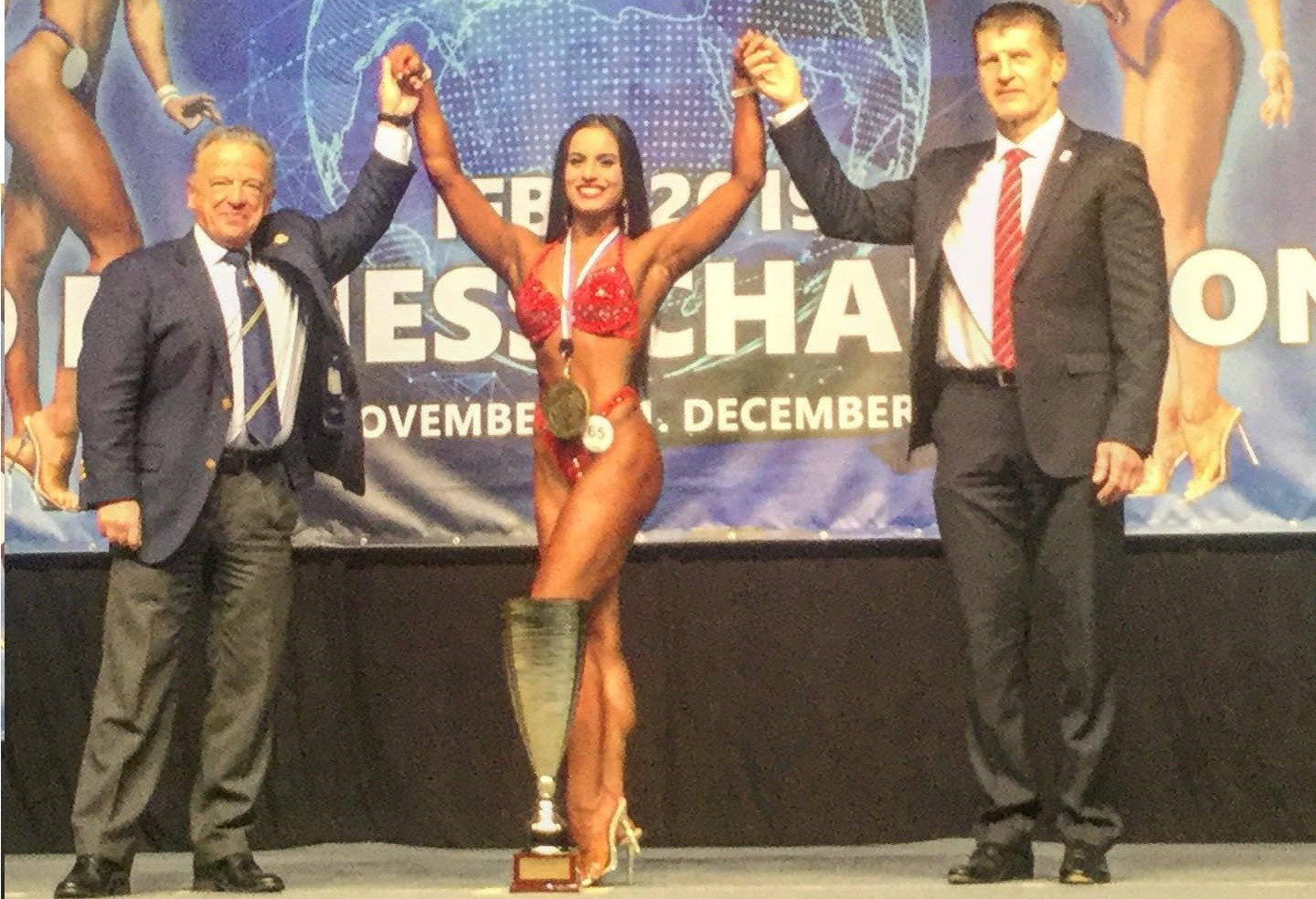 insidethegames is reporting LIVE from the IFBB 2019 World Fitness Championships in Bratislava