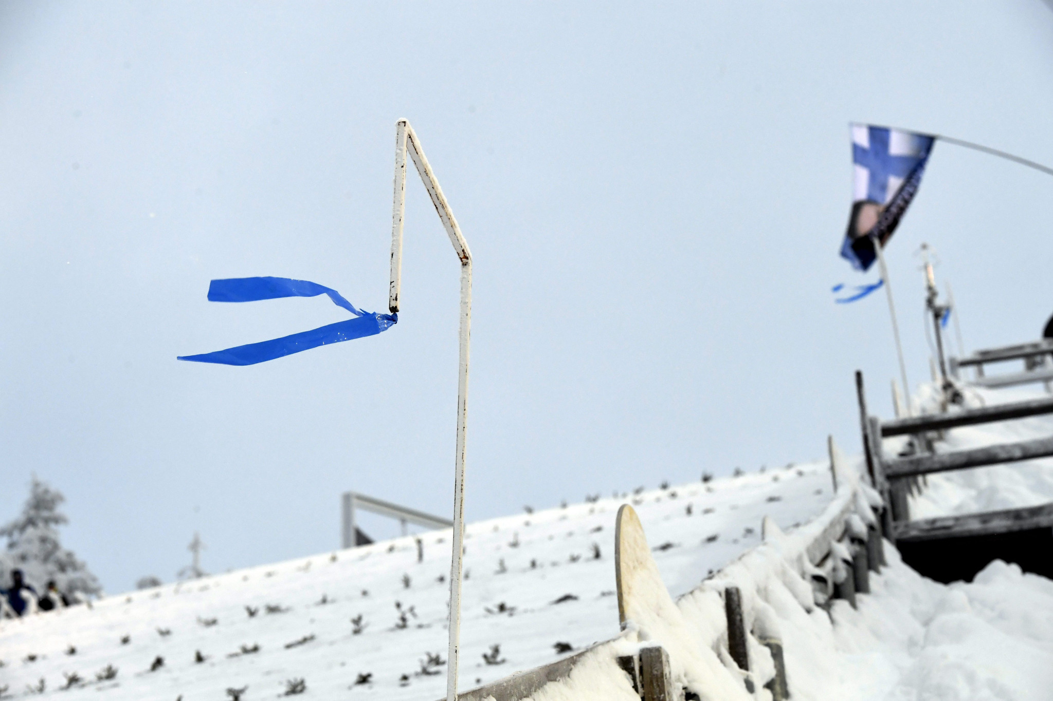 Strong winds led to the cancellation of the FIS Ski Jumping World Cup in Ruka  ©Getty Images