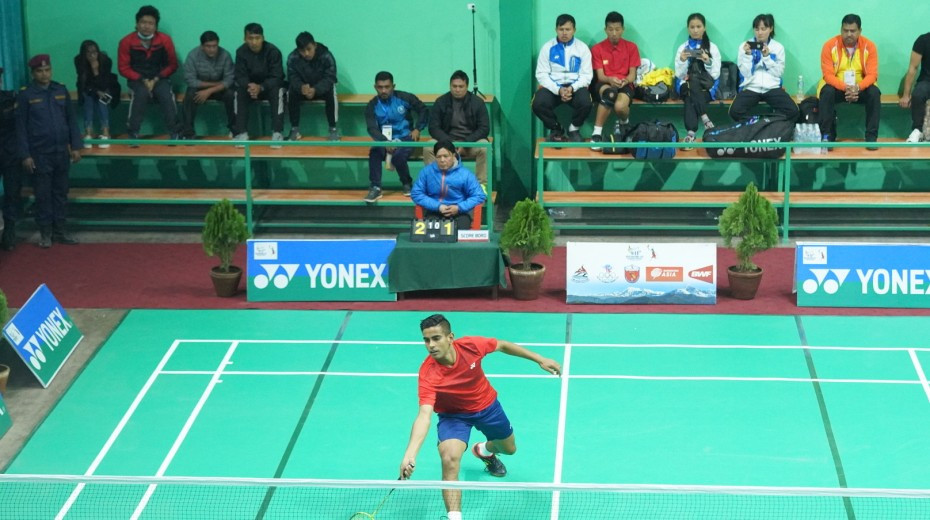 Hosts Nepal enjoyed a good day in badminton ©Nepal 2019