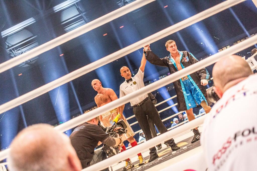 Kazakh wins AIBA Pro Boxing bout as Fury stuns Klitschko in Dusseldorf