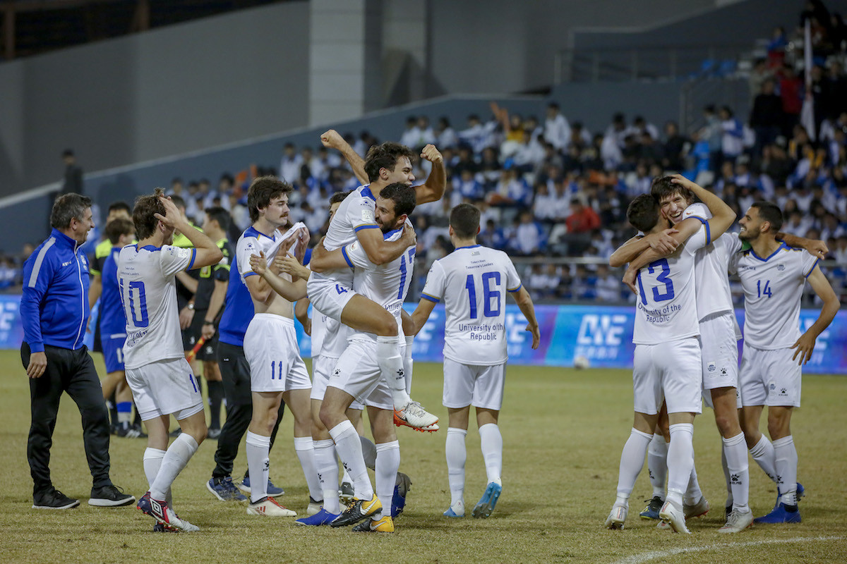 The Uruguayans won the game in extra time ©FISU