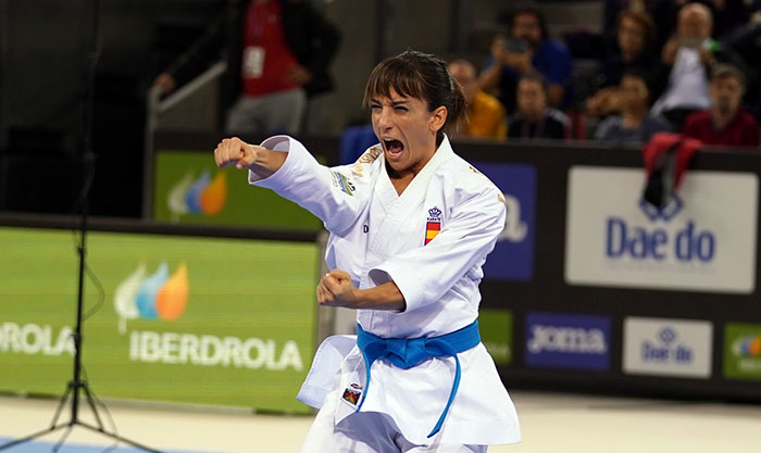 Home favourites earn kata crowns at Karate 1-Premier League in Madrid