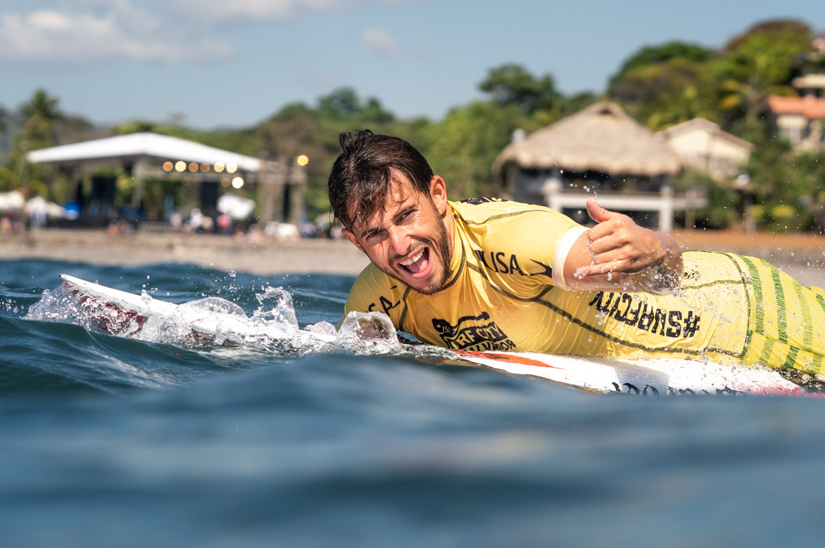 Guillermo Carracedo from Spain smiles for the cameras ©ISA