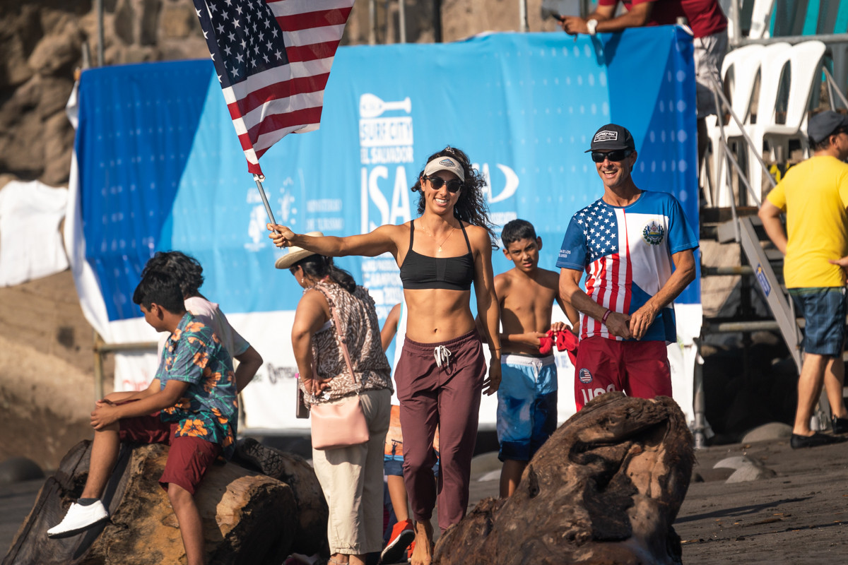 Team USA soak up the sun as competition concludes in El Salvador ©ISA
