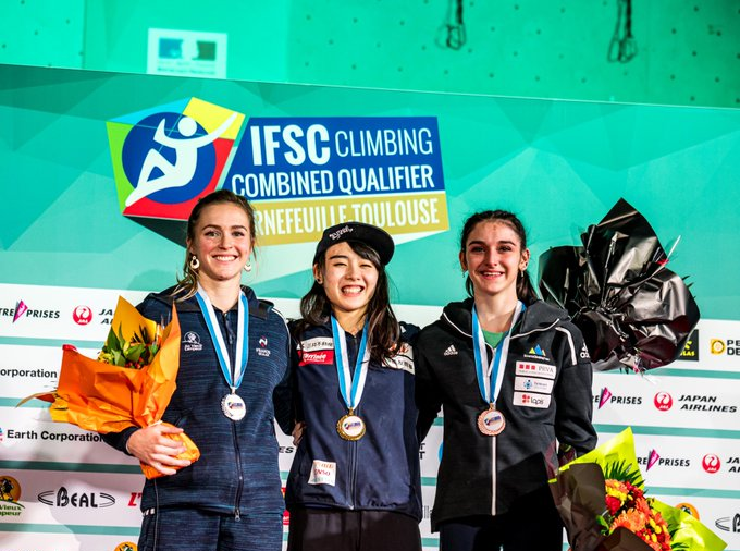 Ito wins at IFSC Combined Qualifier in France as Slovenian Tokyo 2020 berth decided