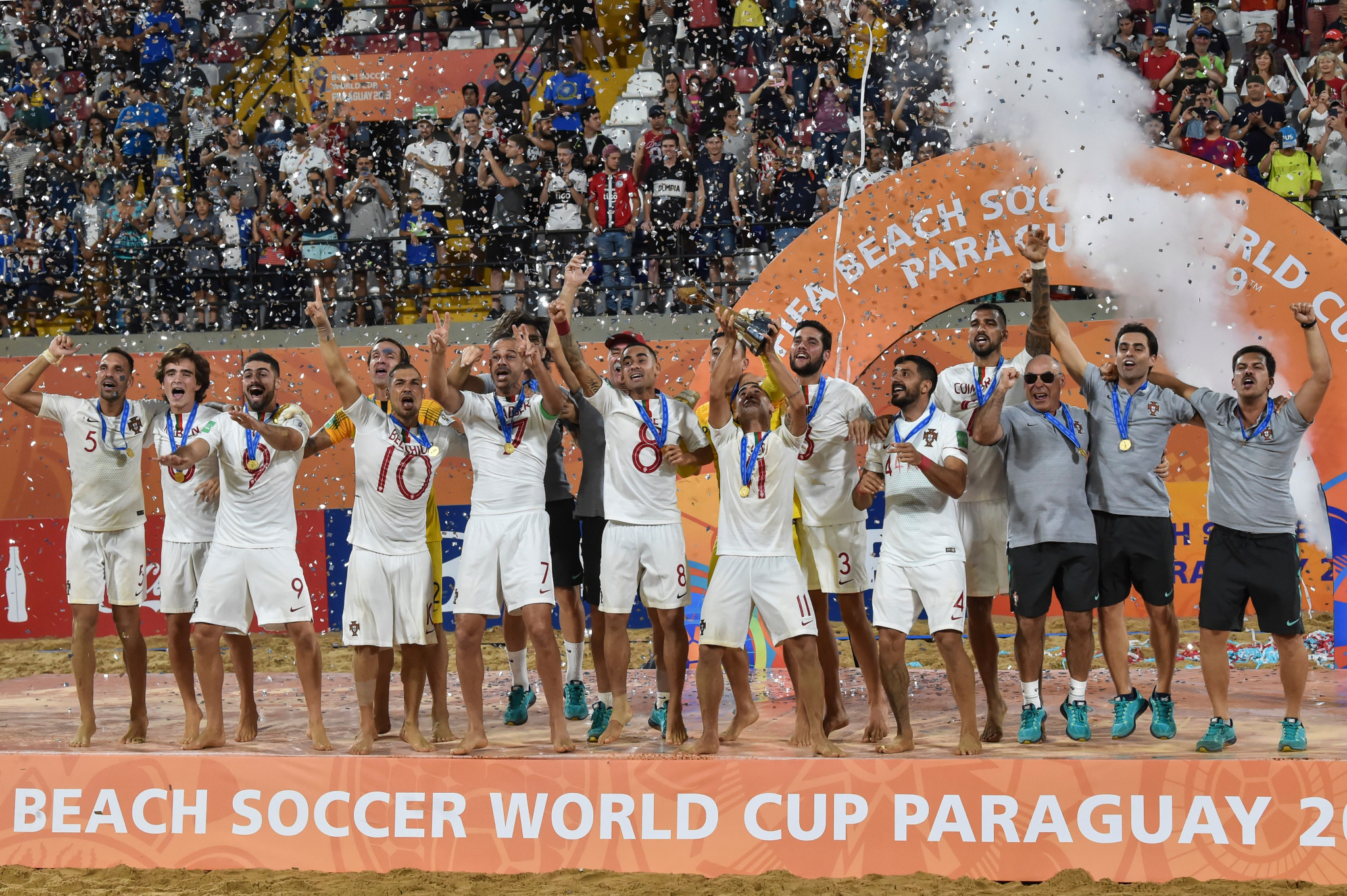 Portugal beat Italy to win FIFA Beach Soccer World Cup