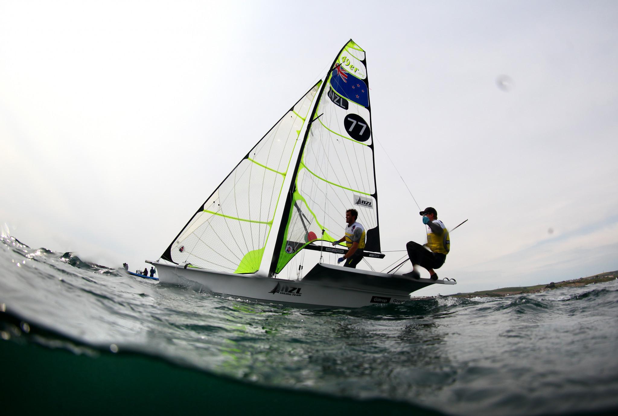 Sailors seek Tokyo 2020 places at 49er, 49erFX and Nacra 17 World Championships