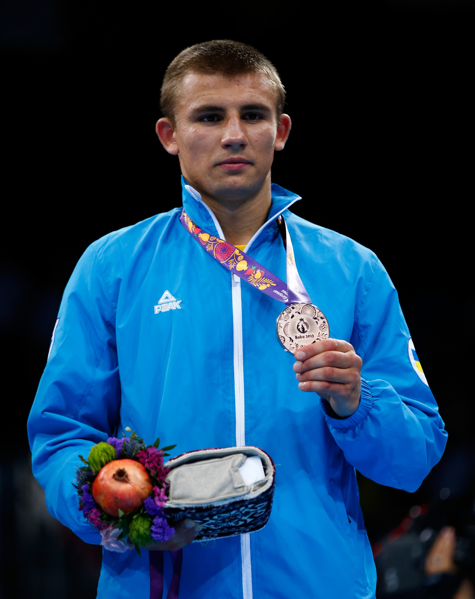 Ukraine's Oleksandr Khyzhniak, the 2017 world middleweight champion, is one of two European Boxing Confederation representatives on the AIBA Athletes' Commission ©Getty Images