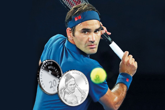 Federer to become first living person to appear on Swiss coin