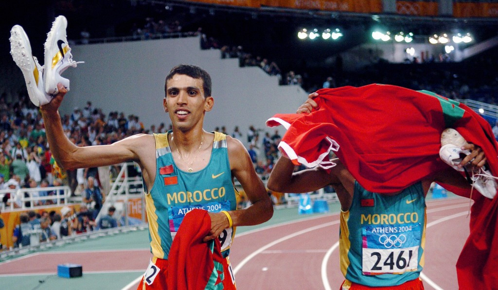 Double Olympic champion Hicham El Guerrouj came up with the idea for the initiative ©Getty Images