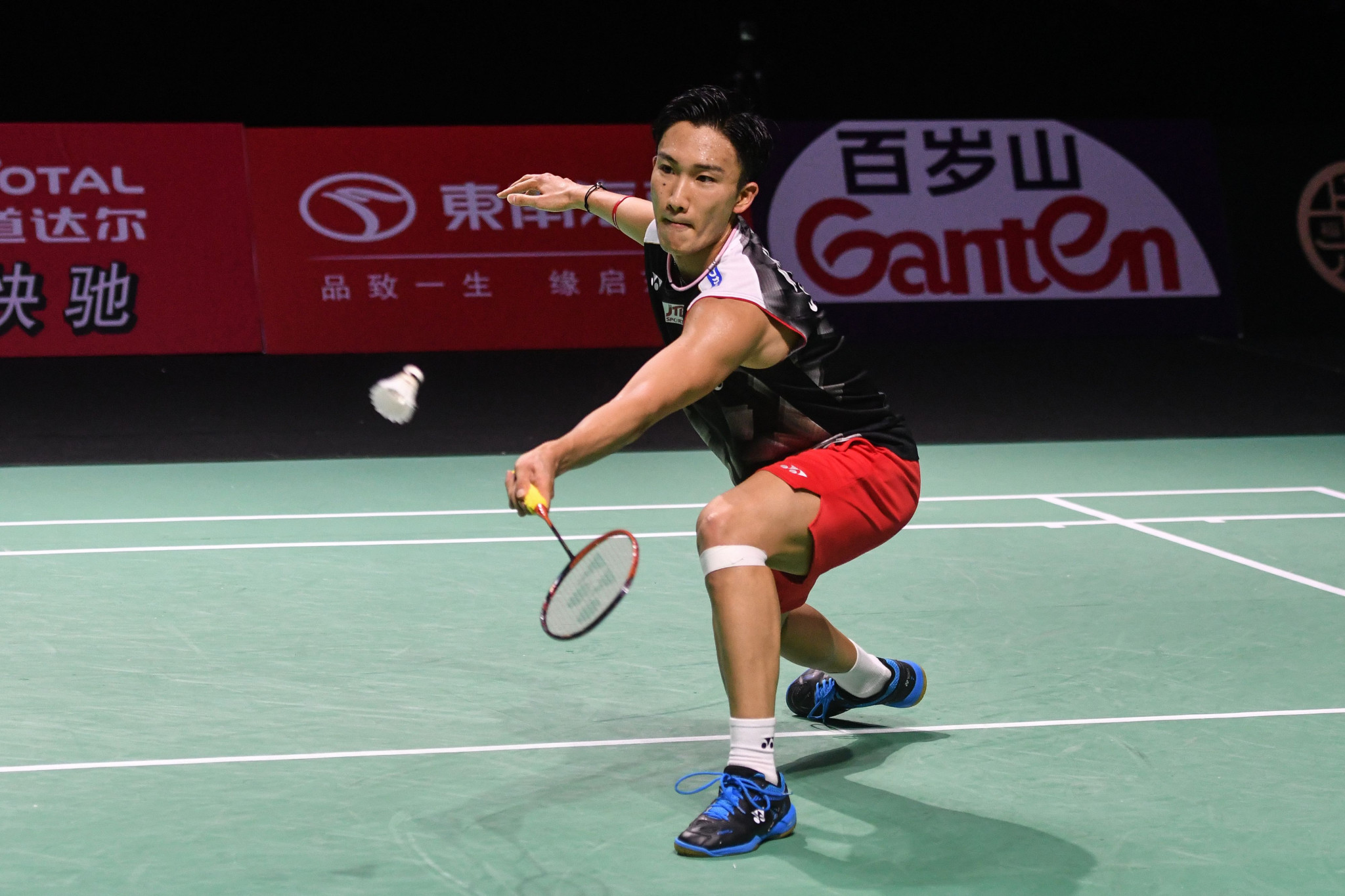 World champion Kento Momota will begin as favourite for the men's singles title ©Getty Images