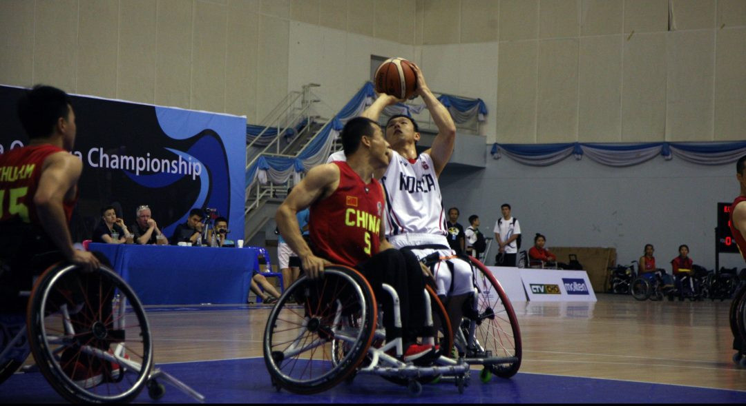Teams are battling for Tokyo 2020 Paralympic places ©IWBF