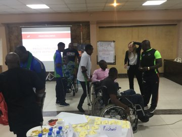 """Uganda Paralympic Committee hosted a """"Proud Paralympian"""" workshop in Kampala ©UGParalympics"""