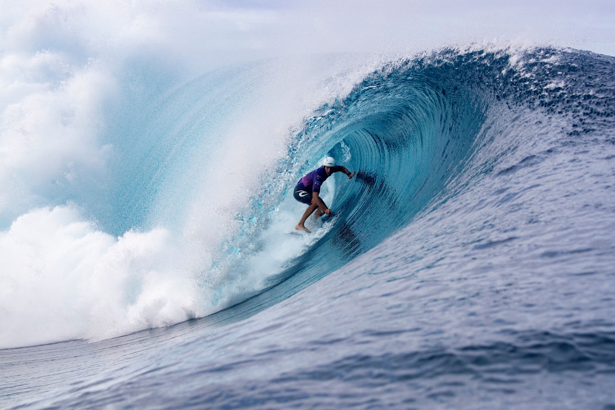 Tahiti is known for its waves and is a popular venue among professional surfers ©Getty Images
