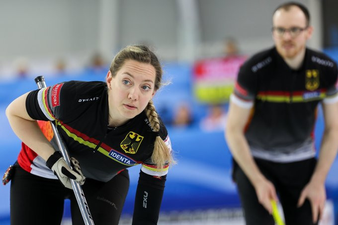 Germany among winners on day one of WCF World Mixed Doubles Qualification Event