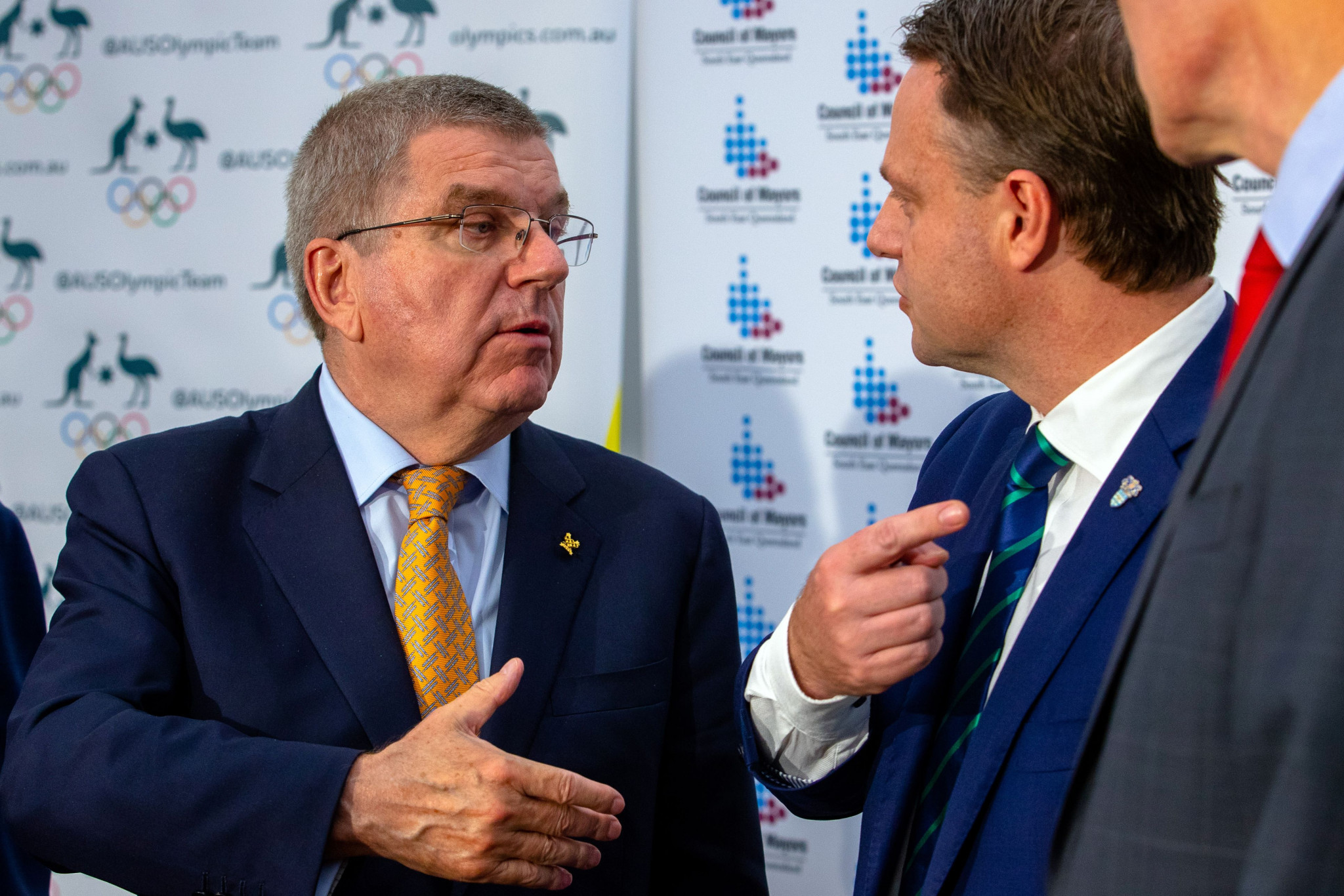 IOC President Thomas Bach has spoken favourably about Queensland's possible 2032 bid ©Getty Images