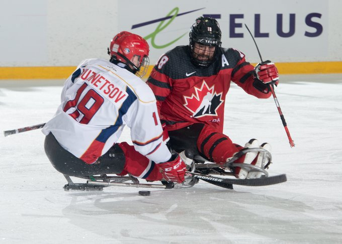 Russia clinch shootout win over Canada at Para Hockey Cup
